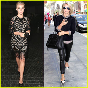 Julianne Hough: Errand Run After Naeem Khan Dinner