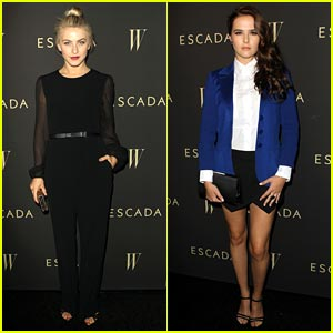 Julianne Hough & Zoey Deutch: W Magazine Party Pics!
