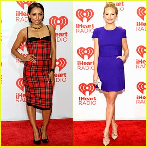 Kat Graham: iHeartRadio Festival with Candice Accola