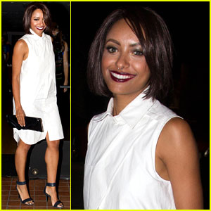 Kat Graham: Post-Birthday Dinner