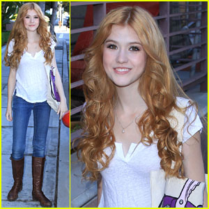 Katherine McNamara Steps Out After 'Happyland' Casting News