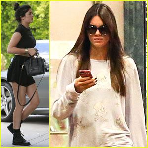 Kendall Jenner Checks Out One Direction's New Movie