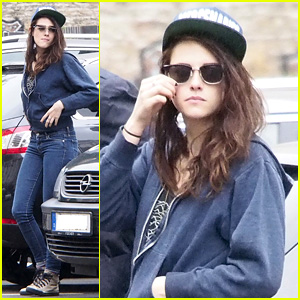Kristen Stewart Explores Berlin on Labor Day