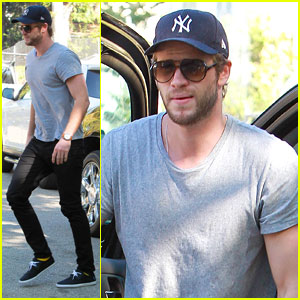 Liam Hemsworth Visits Friends After Miley Cyrus Split