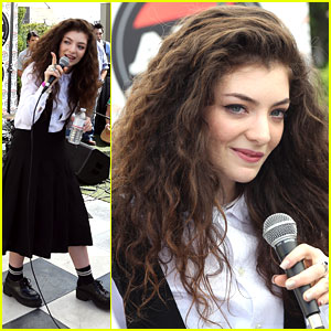 Lorde: 98.7 Penthouse Party Pad