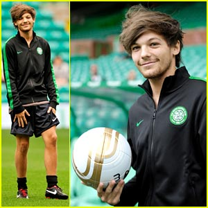 Louis Tomlinson: Charity Football Match with Celtic XI!