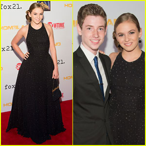 Morgan Saylor: 'Homeland' Season 3 Premiere with Jackson Pace