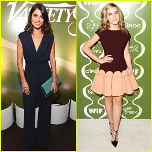 Nikki Reed & Kiernan Shipka: Variety & Women in Film Pre-Emmy Party