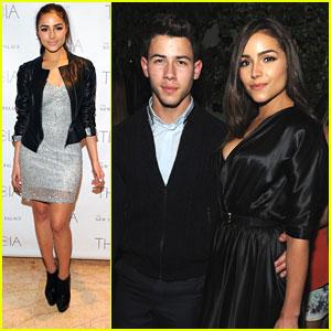 Nick Jonas & Olivia Culpo: Fashion Week Party Pair