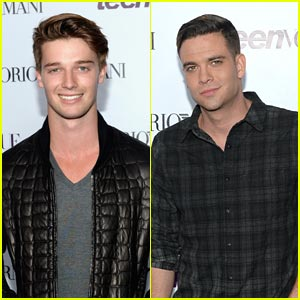 Patrick Schwarzenegger & Mark Salling - Teen Vogue Young Hollywood Party 2013
