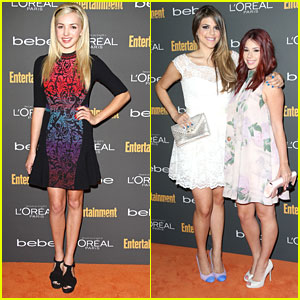 Peyton List & Jillian Rose Reed: EW's Emmy Party with Molly Tarlov