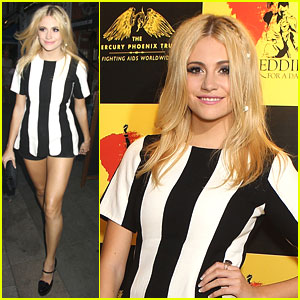Pixie Lott is 'Freddie For A Day'