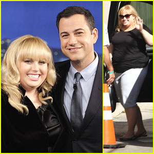 Rebel Wilson: 'Super Fun Night' Promo on Jimmy Kimmel Live!