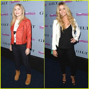 Sasha Pieterse & Maddie Hasson: People StyleWatch Denim Awards 2013