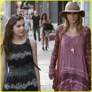 Taylor Swift Goes Shopping with Hailee Steinfeld