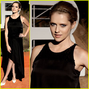 Teresa Palmer: 'Hermes' Beverly Hills Boutique Opening