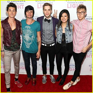 The Summer Set: Macy's Glamorama Performance Pics!