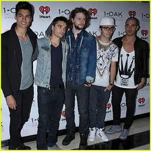 The Wanted: iHeartRadio After-Party Guys