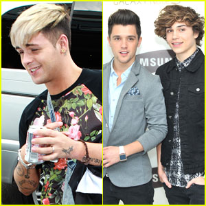 Union J: Samsung Galaxy Note Launch Event
