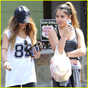 Vanessa Hudgens: Ralphs Run with Stella