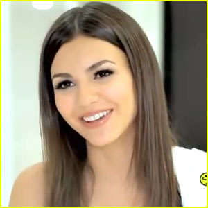 Victoria Justice 'Shakes It' with Zumba Fitness