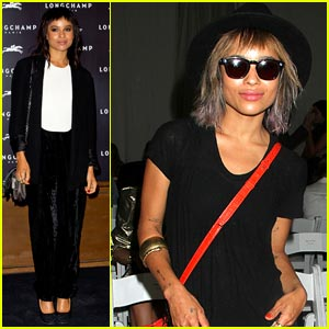 Zoe Kravitz: London Fashion Week Chic