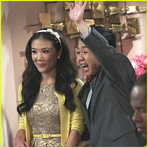 Ally Maki Guests on '2 Broke Girls' - See The First Pics!