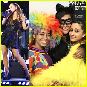 Ariana Grande: Jimmy Kimmel Live Performance Pics!