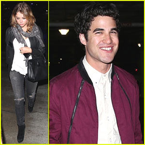 Ashley Benson: Workout Before Kanye West Concert with Darren Criss