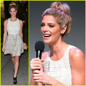 Ashley Greene Promotes 'CBGB' at the Apple Store