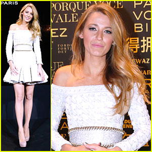 Blake Lively: New Face of L'Oreal Presentation