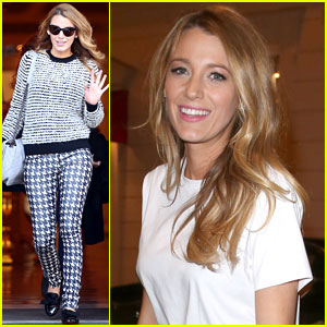 Blake Lively Steps Out After L'Oreal Presentation
