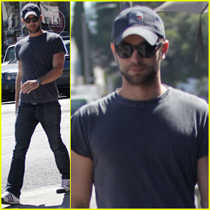 Chace Crawford: Kings Road Cafe Lunch