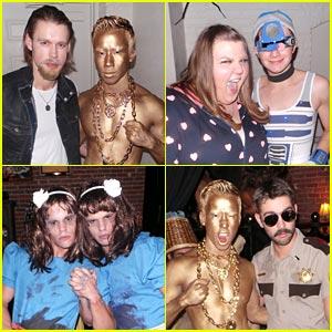Chord Overstreet & Chris Colfer: Matt Morrison's Halloween Party Pics!