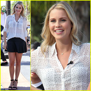 Claire Holt: Rebekah & Marcel Find 'Forbidden Love' on 'The Originals'
