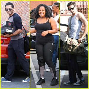 Amber Riley: 'I Am Loving This Dance!'