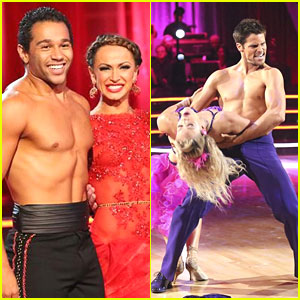 Corbin Bleu & Brant Daugherty: Shirtless for DWTS Week 4!