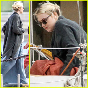 Dakota Fanning: 'Franny' Shooting in Philly!