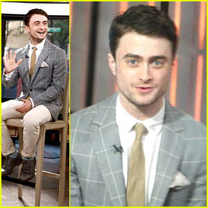 Daniel Radcliffe Talks 'Kill Your Darlings' on 'Today'