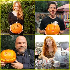 Debby Ryan & Francesca Capaldi: Happy Halloween!
