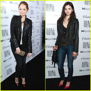 Debby Ryan & India Eisley: Who What Wear's Style Driven Party!