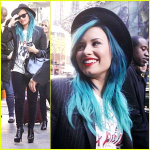 Demi Lovato: GMA Exit