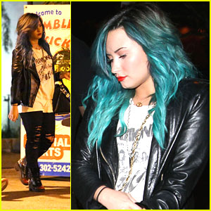 Demi Lovato: Back From Brazil!