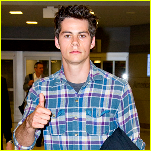 Dylan O'Brien Lands in NYC for Comic-Con!