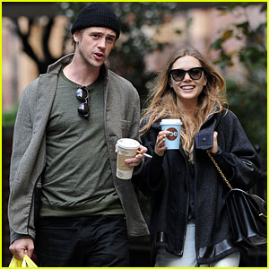 Elizabeth Olsen & Boyd Holbrook: Coffee Lovers!