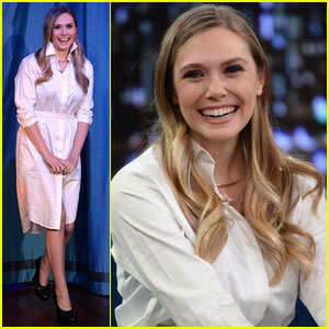 Elizabeth Olsen Talks 'Kill Your Darlings' on 'Jimmy Fallon'