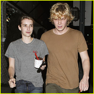 Emma Roberts Evan Peters American Horror Story Coven Teasers Watch Now Emma Roberts Evan Peters Just Jared Jr