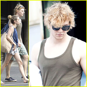 Emma Roberts & Evan Peters: Pool Day Duo