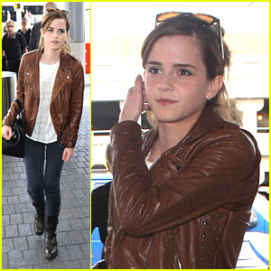 Emma Watson: LAX Lift Off After 'While We're Young' Announcement