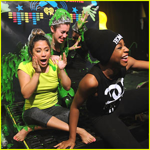 Fifth Harmony: Slimed at Nick Radio Launch Party!
